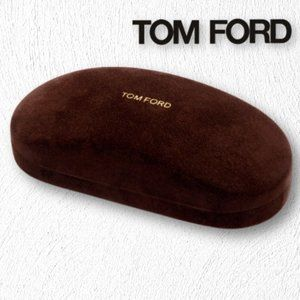 Tom Ford Glasses Case with Box and Cleaning Cloth